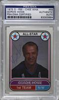 Gordie Howe [PSA/DNA Certified Auto]