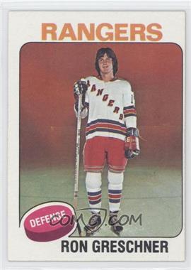 1975-76 Topps - [Base] #146 - Ron Greschner