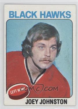 1975-76 Topps - [Base] #193 - Joey Johnston