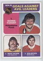 Bernie Parent, Rogie Vachon, Gary Edwards, Ken Dryden