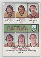 Bob Nevin, Juha Widing, Bob Berry