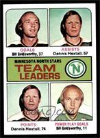 Bill Goldsworthy, Dennis Hextall, Toronto Maple Leafs Team, J. Bob Kelly [NM]