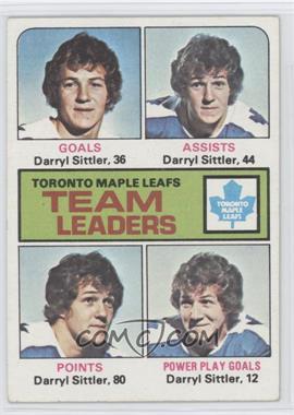 1975-76 Topps - [Base] #328 - Darryl Sittler
