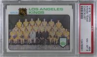 Los Angeles Kings Team [PSA8NM‑MT]