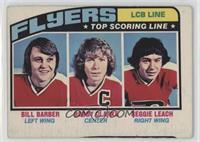 Bill Barber, Bobby Clarke, Reggie Leach [GoodtoVG‑EX]