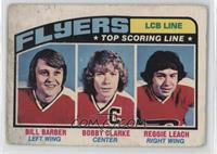 Bill Barber, Bobby Clarke, Reggie Leach [Poor]