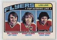 Bill Barber, Bobby Clarke, Reggie Leach