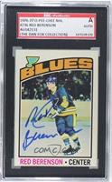 Red Berenson [SGC AUTHENTIC AUTO]