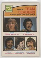Wayne Merrick, Al MacAdam, Rick Hampton, Mike Christie, Bob Murdoch [Good…