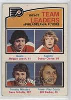 Reggie Leach, Bobby Clarke, Dave Schultz, Bill Barber [PoortoFair]