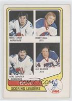Marc Tardif, Bobby Hull, Real Cloutier, Ulf Nilsson [Good to VG&#8209…
