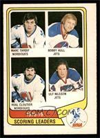 Marc Tardif, Bobby Hull, Real Cloutier, Ulf Nilsson [NM]