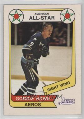 1976-77 O-Pee-Chee WHA - [Base] #72 - Gordie Howe