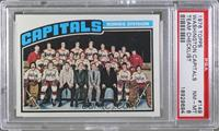 Washington Capitals Team [PSA 8]