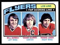 Bill Barber, Bobby Clarke, Reggie Leach [NM]