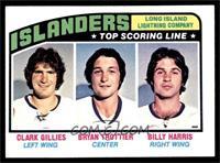 New York Islanders Team, Clark Gillies, Bryan Trottier, Billy Harris [EXM…