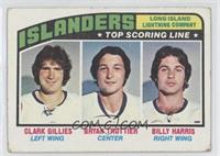 New York Islanders Team, Clark Gillies, Bryan Trottier, Billy Harris [Good&nbsp…