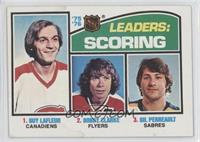 Bobby Clarke, Gilbert Perreault, Guy Lafleur [Poor to Fair]