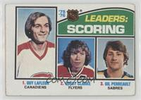 Bobby Clarke, Gilbert Perreault, Guy Lafleur [Good to VG‑EX]