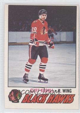 1977-78 O-Pee-Chee - [Base] #146 - Cliff Koroll