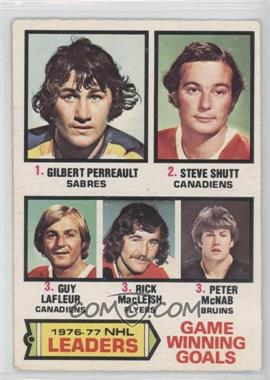 1977-78 O-Pee-Chee - [Base] #7 - Gilbert Perreault, Steve Shutt, Guy Lafleur, Rick MacLeish, Peter McNab [Good to VG‑EX]