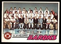 Cleveland Barons Team [NM]