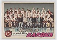 Cleveland Barons Team [Poor to Fair]