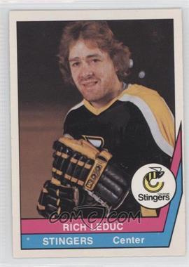 1977-78 O-Pee-Chee WHA - [Base] #13 - Rich LeDuc