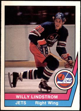 1977-78 O-Pee-Chee WHA - [Base] #39 - Willy Lindstrom [EX]