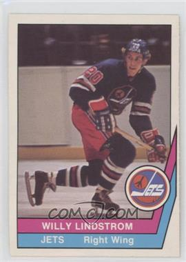 1977-78 O-Pee-Chee WHA - [Base] #39 - Willy Lindstrom [GoodtoVG‑EX]