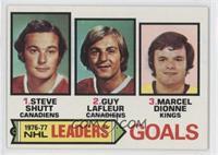 Steve Shutt, Marcel Dionne, Guy Lafleur