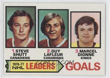 1977-78 Topps - [Base] #1 - Steve Shutt, Marcel Dionne, Guy Lafleur