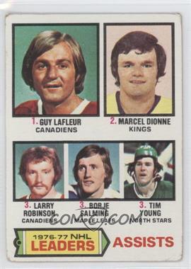 1977-78 Topps - [Base] #2 - Marcel Dionne, Tim Young, Guy Lafleur, Larry Robinson, Borje Salming [GoodtoVG‑EX]