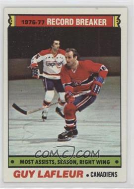 1977-78 Topps - [Base] #218 - Guy Lafleur