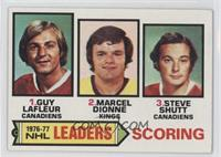 Marcel Dionne, Steve Shutt, Guy Lafleur [Good to VG‑EX]