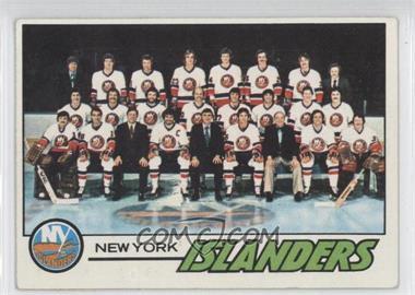 1977-78 Topps - [Base] #81 - New York Islanders Team