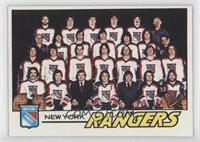 New York Rangers Team [Noted]