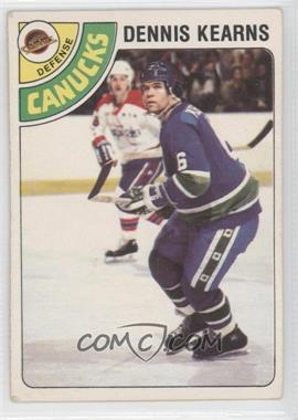 1978-79 O-Pee-Chee - [Base] #191 - Dennis Kearns