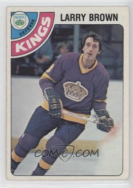 1978-79 O-Pee-Chee - [Base] #361 - Larry Brown [Good to VG‑EX] - Courtesy of COMC.com