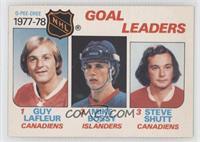 Goal Leaders (Guy Lafleur, Mike Bossy, Steve Shutt)