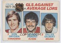 Ken Dryden, Bernie Parent, Gilles Gilbert