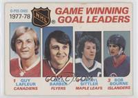 Game Winning Goal Leaders (Bill Barber, Darryl Sittler, Bob Bourne) [Good…