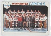 Washington Capitals Team Checklist [GoodtoVG‑EX]