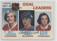 Mike Bossy, Guy Lafleur, Steve Shutt [Good to VG‑EX]