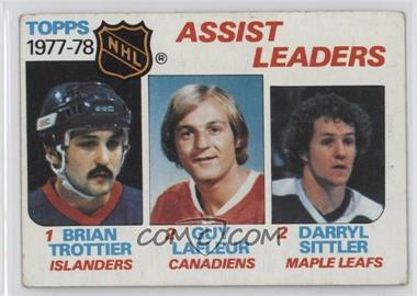 1978-79 Topps - [Base] #64 - Bryan Trottier, Darryl Sittler, Guy Lafleur [Poor to Fair]