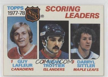 1978-79 Topps - [Base] #65 - Bryan Trottier, Darryl Sittler, Guy Lafleur