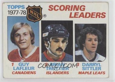 1978-79 Topps - [Base] #65 - Bryan Trottier, Darryl Sittler, Guy Lafleur [GoodtoVG‑EX]
