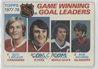 Bill Barber, Darryl Sittler, Bob Bourne, Guy Lafleur [Good to VG̴…