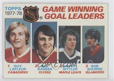 1978-79 Topps - [Base] #69 - Bill Barber, Darryl Sittler, Bob Bourne, Guy Lafleur
