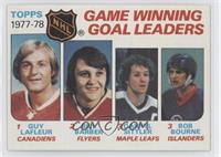 Bill Barber, Darryl Sittler, Bob Bourne, Guy Lafleur